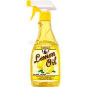 Howard Lemon Oil Wood Polish - Trigger Spray 16 oz. Bottle 6/Case