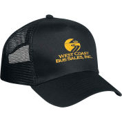 Embroidered Caps - Price Buster Cap, Mesh Back, 5 Panel, Silk-Screened