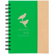 Custom Sticky Flags - Spiral Notebook w/ Sticky Notes & Flags