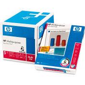 "Multipurpose Paper - HP 115100 - 8-1/2"" x 11"" - White - 2500 Sheets/Ctn"