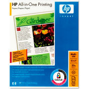 "HP All-In-One Printing Paper 207000, 8-1/2"" x 11"", White, 500 Sheets/Ream"