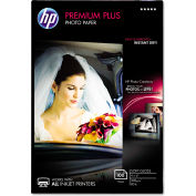 "HP Premium Plus Photo Paper CR666A, 4"" x 6"", White, 100/Pack"