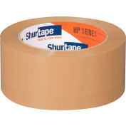 "Shurtape® HP 200 Carton Sealing Tape 2"" x 110 Yds. 1.9 Mil Tan - Pkg Qty 72"