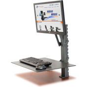 HealthPostures 6400 TaskMate EZ Sit-Stand Workstation