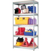 "Hirsh Industries® 36""W x 18""D x 72""H, 1000 Series Shelving Unit, 5-Shelf"