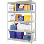 "Hirsh Industries® 48""W x 24""D x 72""H, 1500 Series Shelving Unit, 5-Shelf"