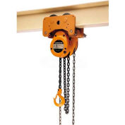 Low Headroom Trolley/Hoist 1 Ton, 10' Lift