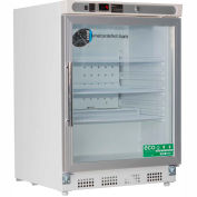 American Biotech Supply Premier Built-In Undercounter Refrigerator, ABT-UCBI-0404G, 4.6 Cu Ft