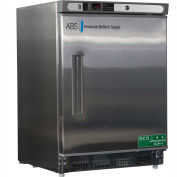 American Biotech Supply Premier Built-In Undercounter Refrigerator, ABT-UCBI-0404SS, 4.5 Cu Ft