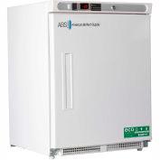 American Biotech Premier 4.2 Cu Ft Built In Solid Door Under Counter Freezer (ADA)