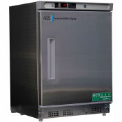 American Biotech Supply Premier Built-In Undercounter Freezer, ABT-UCBI-0420SS, 4.5 Cu Ft