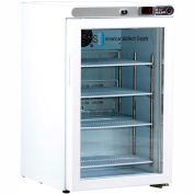 American Biotech Supply Premier Free Standing Undercounter Refrigerator, ABT-UCFS-0204G , 2.5 Cu Ft