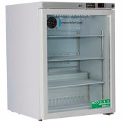 American Biotech Supply Premier Freestanding Undercounter Refrigerator ABT-HC-UCFS-0504G, 5.2 Cu.Ft.