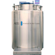 "American Biotech Supply KryoVault System 19,500 Vial Cap. Cryogenic Tank, 60"" x 34"" x 34"""