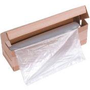 "HSM® Shredder Bags, 42"" x 56"", Flat, 50/Box, Fits KP80 & KP88 Baler"