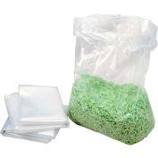 HSM® HSM1408 13 Gal Capacity Shredder Bag, Clear, 1 Roll