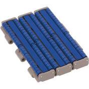 "HabaCHAIN, 821, Low-Back-Pressure Chain w/Sliding Blocks, Straight, HD, LF Acetal, 5'L, 7.5""W"