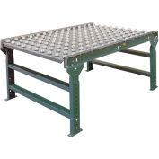 "Hytrol® 3' Ball Transfer Table 3FT-BTT35-21-4 - 21"" Between Frame - 4"" Ball Center"
