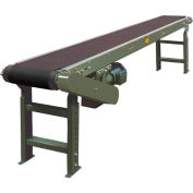 "Hytrol® Model TA 6'L Slider Bed Conveyor 6TA18 115V/1PH, 14""W Belt"