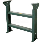 """Hytrol® Stationary Floor Support MS-6-40 - 40""""W - Max. Leg 35-5/8""""H"""