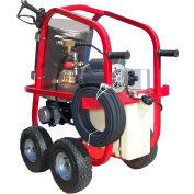 HOT-2-GO HV22004E2H 220V Electric Hot Water Pressure Washer 2200 PSI 3.4 GPM
