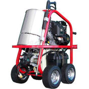 HOT-2-GO Portable Hot Water Pressure Washer 2700 @ 2.5 Gas Powered Diesel Heated