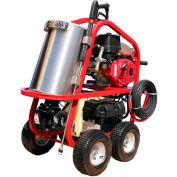 Hydro-Tek HOT-2-GO Portable Hot Water Pressure Washer 3000 @ 3 Gas Powered Diesel Heated