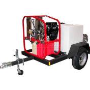HOT-2-GO Single Axle 200g Pressure Washer Trailer w/ Reel for HOT-2-GO SK Pressure Washers