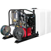 HOT-2-GO Skid Mounted 200g Tank w/ Reel for HOT-2-GO SK Hot Water Pressure Washers