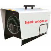 Heat Wagon Electric  Heater, P1800D, 18/12 KW, 65,000 BTU, 240 V,  3 Phase, Ductable, 940 CFM