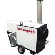 Heat Wagon Indirect Fired Dual Fuel Gas Heater VG400 - 400K BTU, 120V, Ductable