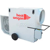 Heat Wagon Indirect Fired Dual Fuel Gas Heater VG500 - 500K BTU, 240V, Ductable