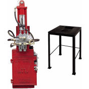 BJE TT25 Electronic Over Hydraulic Oil Filter Crusher w/7750 Crusher Stand w/Reservoir - 7720