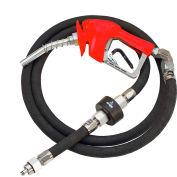 Husky XS Pressure Activated Unleaded Nozzle w/Waffle Splash Guard - 10485-02