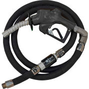 "Husky VIIIS HD Press. Act. Diesel Nozzle w/Waffle Splash Guard 1""x18'9"" Hardwall Whip Hose-10604-04"