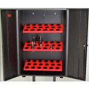 Huot® 55741 Wall Tree Locker for 40 Taper Toolholders