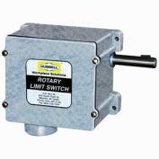 Hubbell 54BB23EC Series 54 Watertight Limit Switch - 72:1 Gear Ratio w/ 2 Contact Blocks