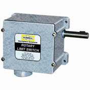 Hubbell 54BB23EE Series 54 Watertight Limit Switch - 18:1 Gear Ratio w/ 2 Contact Blocks