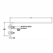 """Hubbell F-CTA-F18 Tow Arm 18"""" For S-Beam Trolleys"""