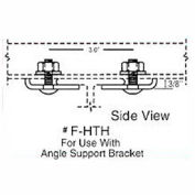 Hubbell F-HTH/ST T-Track Festoon Strut Track Support Bracket