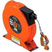 Hubbell SD-2050-OS 50 Ft orange Nylon Cover 7x7 Stranded Steel Static Disch Reel