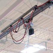 Hubbell WS50-ET12 Heavy Duty Overhead Tool Crane Kit 12ft., 50 Lb. Capacity