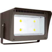 Hubbell LFX-345-4K-Y-7PR LED Floodlight w/ 7-pin Twist Lock Photocell Rec, 342W, 37000L, 4000K, Wide