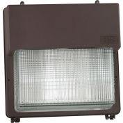 Hubbell PGM3-180LU-5K-BZ Perimaliter LED Wallpak, 5678L 69W, 5100K, Bronze Finish