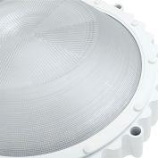 Hubbell PHB Performance LED Highbay w/ Drop Lens, Pendant Mt, 216W, 26000L, 50K, 120-277V, Gray