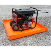 """Husky® Mini Basin HMB-44v18 - PVC - 4'L x 4'W x 4""""H - Orange"""