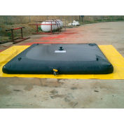 "Husky Chemical Resistant/Gray Water Bladder Tank BT-15030 - 60""L x 60""W x 12""H 150 Gal. Cap. Black"