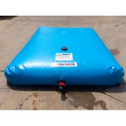 "Husky Drink Water Bladder Tank BT-75PW - 54""L x 42""W x 9""H 75 Gallon Cap. Powder Blue"