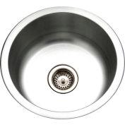 Houzer CF-1830 Club Series Undermount Round Bar/Prep Sink