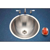 Houzer CRT-1620-1 Opus Conical Drop In Stainless Steel Bowl Lavatory Sink